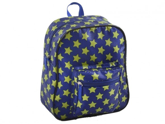Smallstuff Rucksack blau Sterne grün