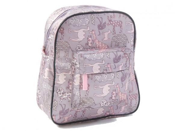 Smallstuff Rucksack Tiere rosa