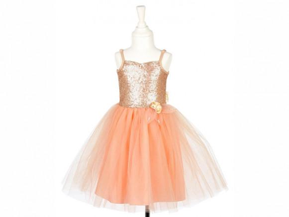 Souza Kostüm Ballkleid GISELLE aprikot 8-10