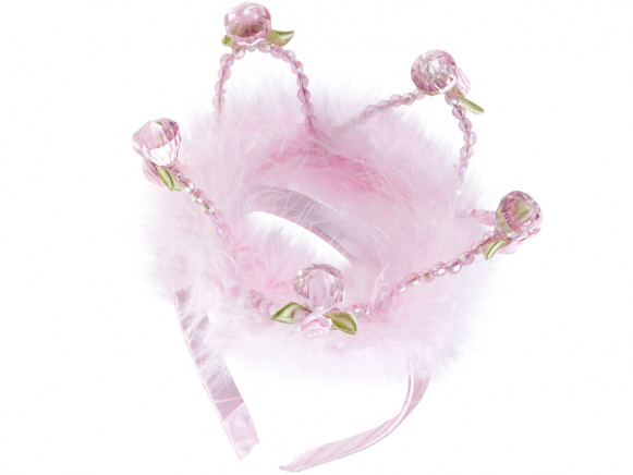 Souza Haarreifen Krone MAXIMA rosa