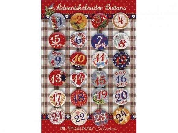 Spiegelburg Adventskalender-Buttons No. 3