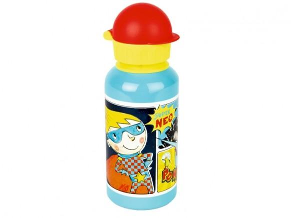 Die Spiegelburg Trinkflasche SUPER NEO