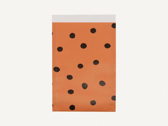 KD x Sticky Lemon 5 Geschenktüten FRECKLES Karotten-Orange M