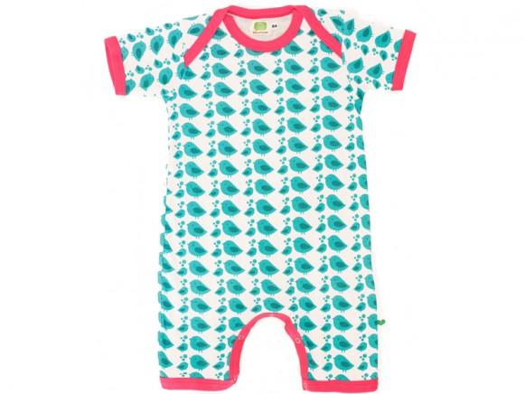 Sture Lisa Pyjama Jumpsuit Vögel