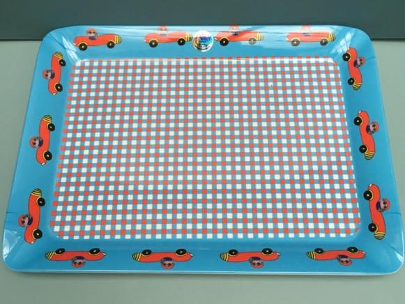 Supersoso Tablett AUTO blau