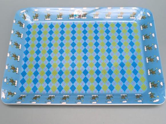 Supersoso Tablett HASE blau