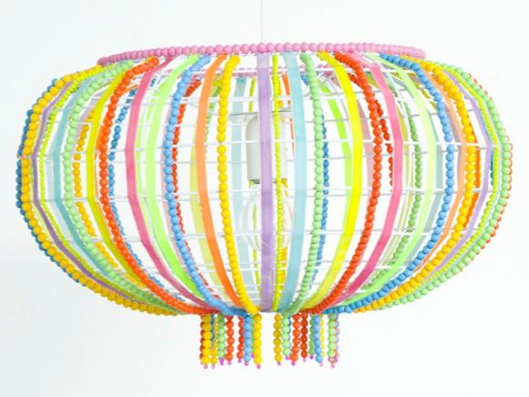 Ovaler Lampenschirm Frou-Frou von Taj Wood