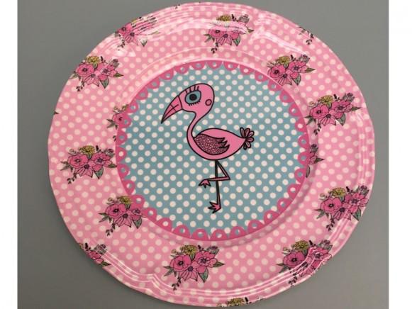 Supersoso Teller medium FLAMINGO pink