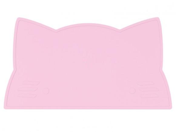 We Might Be Tiny Tischset Katze pink