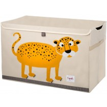 3 Sprouts Aufbewahrungskiste Leopard