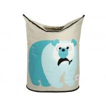 3 Sprouts Wäschekorb Eisbär