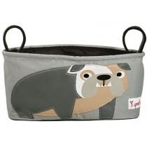 3 Sprouts Kinderwagentasche Bulldogge