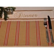 Gestreiftes Tischset von Artefina Design