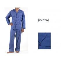 BedHead Pyjama Banker Blue Plaid