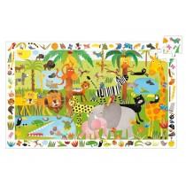 Djeco Entdeckerpuzzle: Dschungel