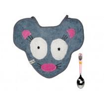 Babyset (Latz und Löffel) Maus von Petit Appetit