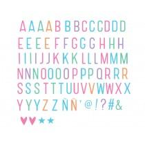 A Little Lovely Company Lichtkasten Buchstaben-Set pastell