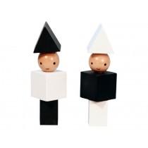 A Little Lovely Company Holzklötze Little People monochrom