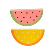 A Little Lovely Company Wandhaken Wassermelonen