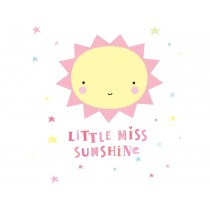 A Little Lovely Company Wandsticker Miss Sunshine