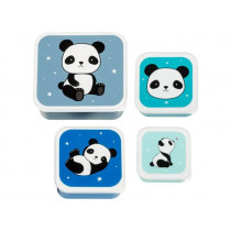 A Little Lovely Company Lunchbox Set PANDA