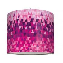 anna lampe Lampenschirm Triangles lila