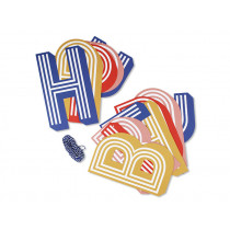 Ava & Yves Girlande HAPPY BIRTHDAY gestreift