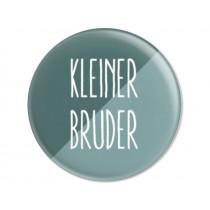 Ava & Yves Button KLEINER BRUDER petrol