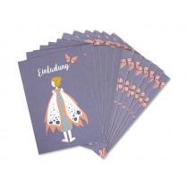 Ava & Yves Einladungskarten Set ELFE