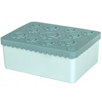 Blafre Lunchbox Blumen mint