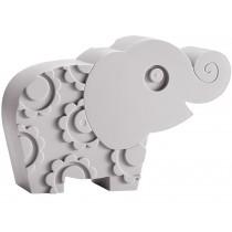 Blafre Lunchbox Elefant grau