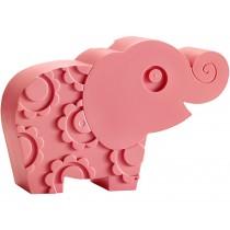 Blafre Lunchbox Elefant rosa