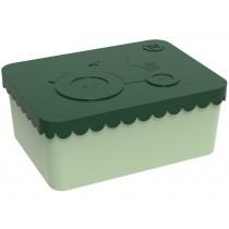 Blafre Lunchbox Traktor dunkelgrün-grün klein