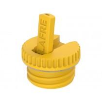 Blafre Trinkflaschen-Verschluss gelb