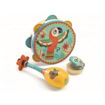 Djeco Animambo 3er-Set Instrumente