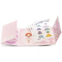 Djeco Tinyly 40 wiederverwendbare Sticker MISS LILYRUBY