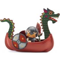 Djeco Arty Toys Pirat DRACK & DAS DRACHENBOOT