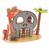 Djeco Arty Toys Piraten DIE PIRATENINSEL