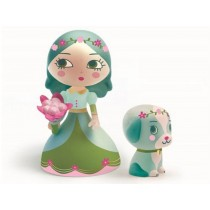 Djeco Arty Toys Prinzessin Luna mit Hund