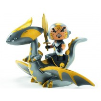 Djeco Arty Toys Ritter CHROME & INFERNO