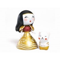 Djeco Arty Toys Prinzessin MONA & MOON