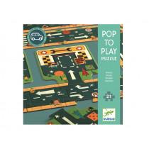 Djeco Bodenpuzzle STRAßE (21 Teile)