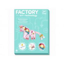 Djeco Factory Brosche mit Beleuchtung EINHORN