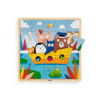 Djeco Holzpuzzle Puzzlo BOOT