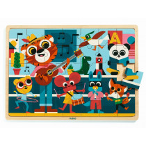 Djeco Holzpuzzle MUSIK
