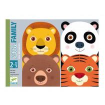 Djeco Kartenspiel für Kleine LITTLE FAMILY