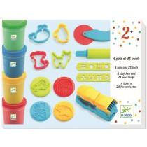 Djeco 3-6 Design: Set Spaß mit Knete