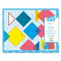 Djeco 3-6 Design ZAUBERQUADRATE