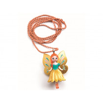 Djeco Lovely Charms Halskette SCHMETTERLING
