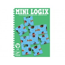 Djeco Mini Logix Spiel Verrücktes Puzzle Piraten